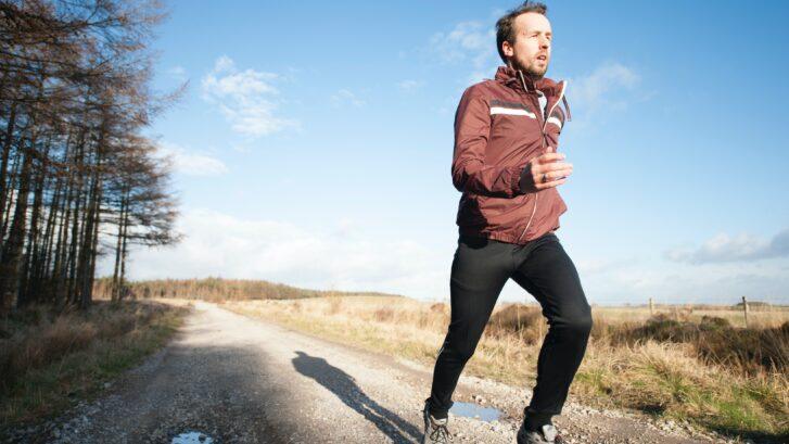 running knees
