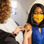 women COVID vaccines